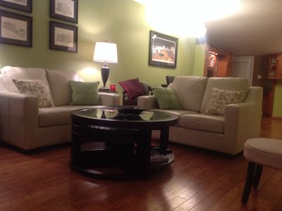 Photo for Warm, Inviting, Conveniently located 3 BR house. Jacuzzi Ensuite, Private Garden