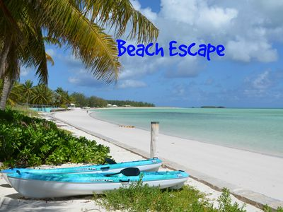 Photo for Beach Escape- spacious one bedroom with full kitchen and covered porch