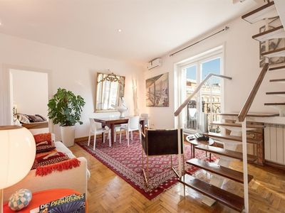 Photo for Apartment 89 m from the center of Rome with Internet, Air conditioning, Lift, Terrace (364469)