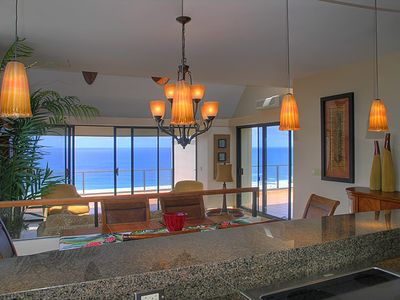 Photo for Pu'u Poa 401 - Romantic, A/C, completely private, penthouse! Ocean views, two private lanais
