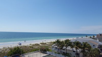 view of beautiful Indian Rocks Beach by condo