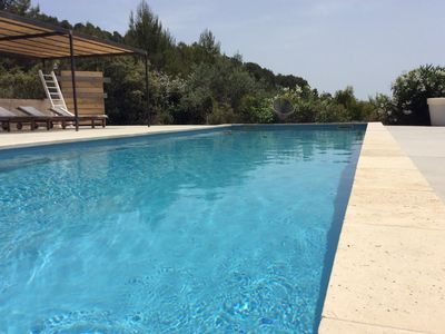 Photo for Villa at Cadenet in Luberon with an exceptionnel panoramic view