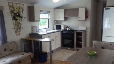 Photo for Rents Mobile home 6 seater Pont Aven with unlimited free Wi-Fi