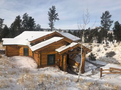 Photo for Pikes Peak Resort - Bear Den Cabin - Where Wilderness & Luxury Meet