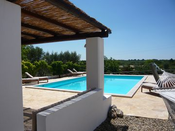 Luxury Trullo Alberobello, HEATED PRIVATE POOL, Sofa Gazebo, DBL Hammock, Bikes