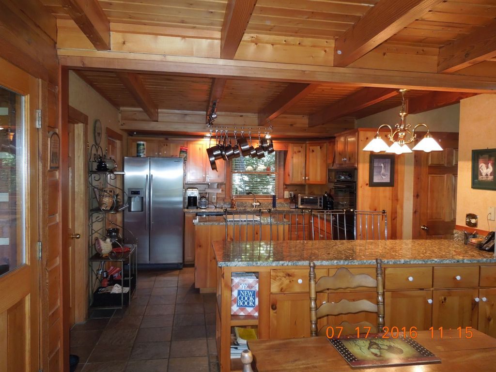 Romantic Leatherwood Mtn Log Home 19.3 acres /Panoramic View/Near Boone