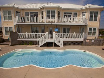 Photo for Bright 9 bedroom oceanfront home w/ private pool & hot tub