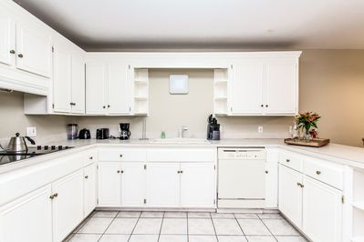 Kitchen - The kitchen is equipped with cookware, dishes, and utensils to make mealtime easy.