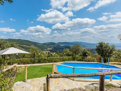 Photo for Villa Alvise: A charming two-story villa located on top of a small hill, with Free WI-FI.