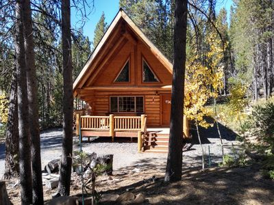 Photo for Caz's cozy cabin in the Cascades