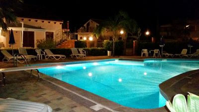 Photo for Sea side apartment with POOL, Terrace with SEA VIEW, WiFi, near Cefalu Palermo