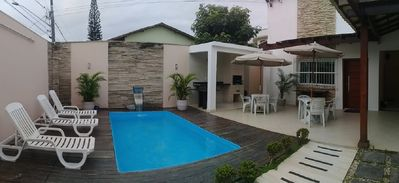 Photo for Beautiful house on the sea qd in Jacaraípe