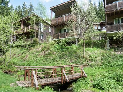 Photo for Holiday home in the heart of the Thuringian Forest with wood stove and balcony