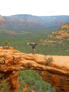This is Devils Bridge~ easy walking hike to get to this breathtaking place.