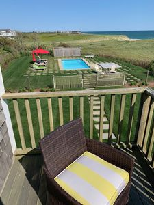 Photo for On the Beach Stunner in Madaket, Pool, A/C Hot Tub, Fire Pit