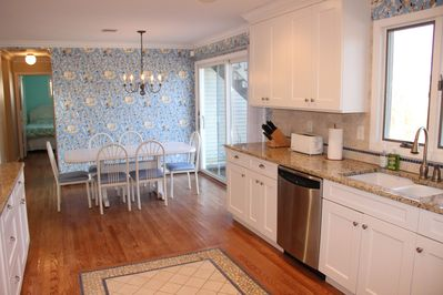 Eat in dining room off large kitchen