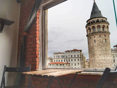 Photo for Historic Flat Right At The Heart Of Istanbul By Galata Tower