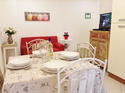 Photo for SPECIAL COZY, COMFORTABLE, CENTRAL WIFI ,TV SAT, CLOSE VATICAN AND METRO CIPRO