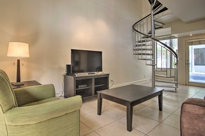 This vacation rental townhome awaits you in Miami!