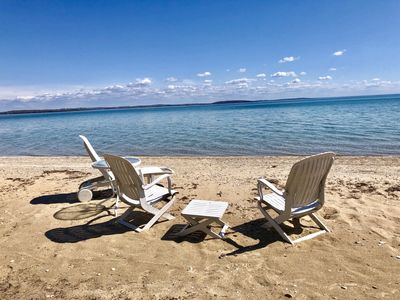 Photo for West Grand Traverse Bay - Sandy Beach – Ideal for four adults!