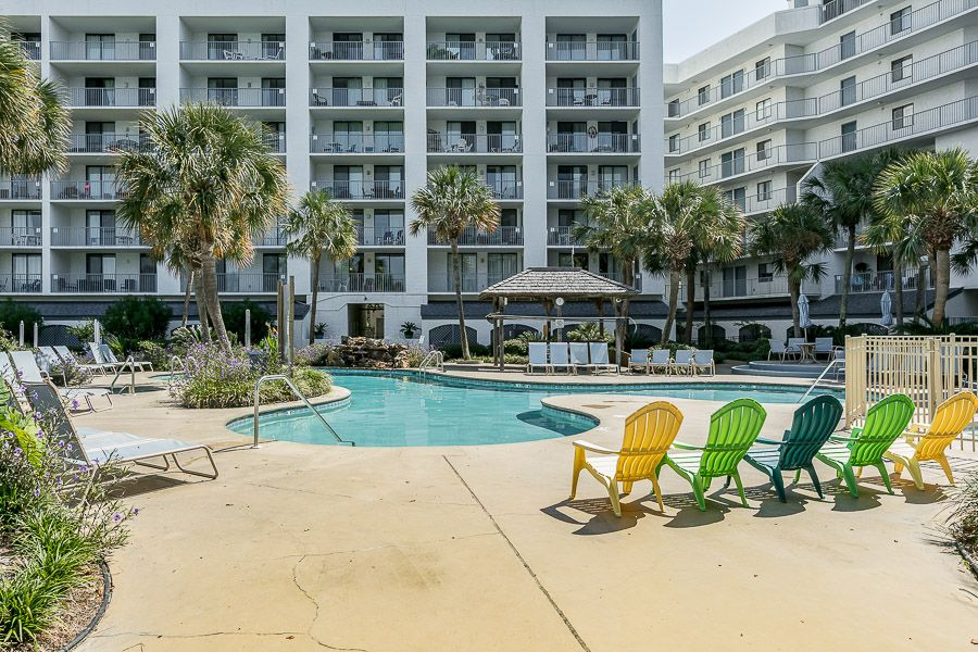 Gulf Shores Surf & Racquet Club 516A: 1 BR / 1 BA condo in Gulf Shores, Sleeps 4
