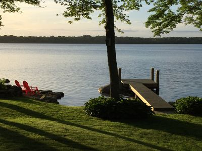 Photo for Peaceful Lakefront Cottage - Perfect for Your Family!