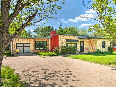 Photo for NEW! Remodeled Retro Home Near Blanco Town Square!