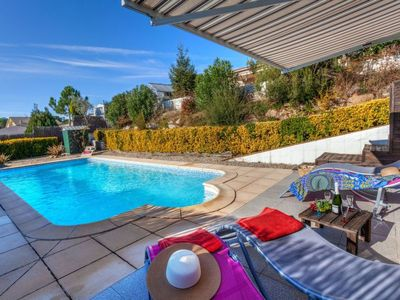 Photo for Vidreres Holiday Home, Sleeps 6 with Pool, Air Con and Free WiFi