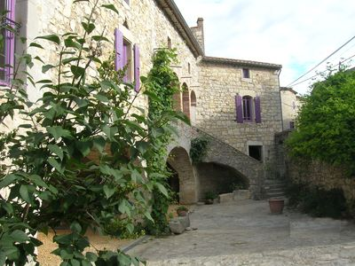 Photo for Large cottage of charm and character in southern Ardèche