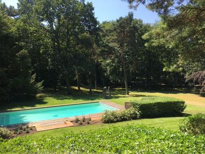 Photo for Villa with pool and landscaped park near golf 6 PERS
