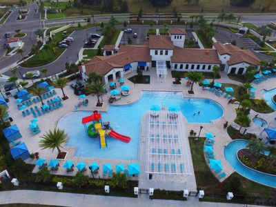 Photo for $125+/nt! Free Waterpark! 5BR- Pool- GATED Windsor at Westside (2062RD)