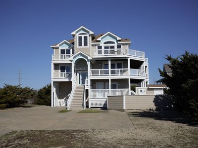 Photo for Foster Your Dreams in Rodanthe - Ocean & Sound Views, Pool, Hot Tub, Linens