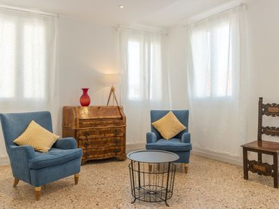 Photo for Apartment 117 m from the center of Venice with Internet, Air conditioning, Washing machine (999073)