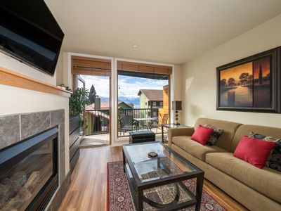 Photo for Chelan Resort Suites #203 - 1 bed, 1 bath View Condo, steps to the Lake Chelan