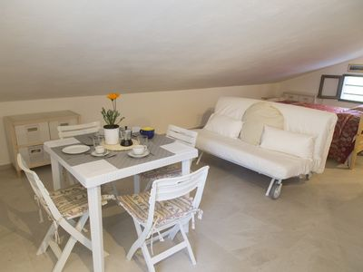 Photo for Brand new attic, bright and spacious, with panoramic terrace