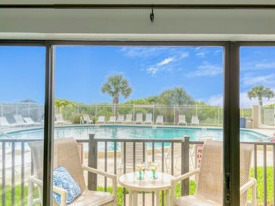 Photo for ** On the beach! Enjoy walking right out of your patio door to pool and beach! **