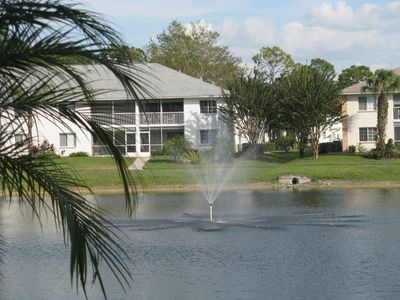 Photo for Bright, Comfortable & Cozy 2BR,2BA Florida Style Condo In Sapphire Lakes.
