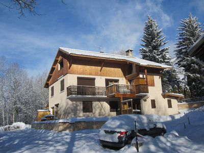 Photo for CHALET 3 bedrooms apartment in the foot slopes of quality services