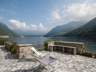 Photo for Villa Nava Laglio  -  Lake front villa - sleeps 12 guests  in 6 bedrooms