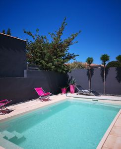 Photo for BETWEEN BÉZIERS AND VALRAS BEACH VILLA WITH GARDEN AND PRIVATE SWIMMING POOL