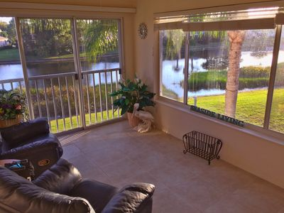 Photo for Plantation Golf and Country Club:  2 Bedroom + Office with Lake View + Garage