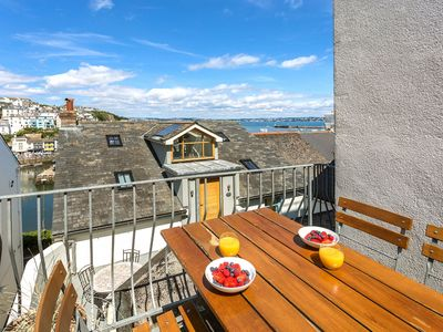 Photo for Sundeck  Brixham - spacious modern apartment with sea views in central location.  3 double  bedrooms