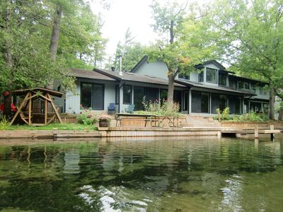 Photo for The Weaver House on the pristine Crystal River in Glen Arbor