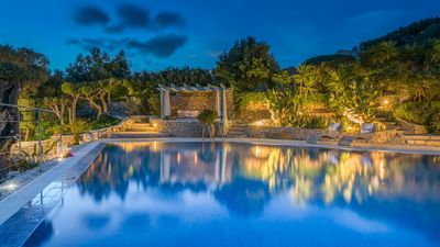 Photo for Askos Villa with Panoramic Sea View