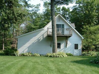 Guest House on Secluded Shetland Creek ~ Quiet 20 Acres Of Beautiful Woods
