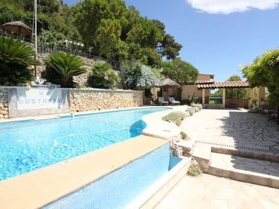 Photo for Panoramic sea view/ Garden/Pool/Barbecue