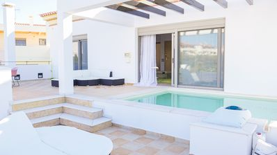 """Photo for Porto Cheli, """"The Real View"""", a luxurious apartment in the Greek Riviera"""