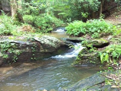 Photo for Book 5 nights or more and get 20% OFF!  See Special`s page for details.  Close to Ellijay.  Rugged a