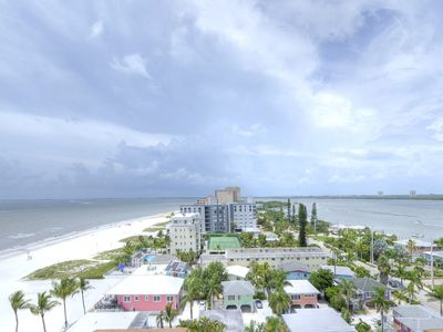 Photo for Top floor Beach front Luxury 2bed/2bath condo on the quiet north end of Beach