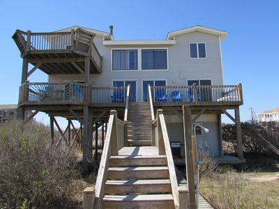 Photo for Stay at Carova Cottage! 3BR/2BA Oceanfront See the Wild Horses! Bring your Dog!